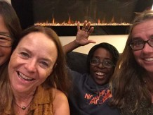 Party time with Flea, Ayoola, and Kathleen