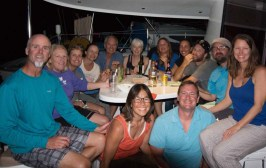 The New Year's fleet and dinner aboard SNL