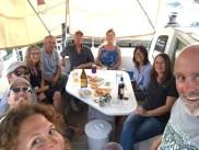 Happy hour on FL with Volaré, Striker, Shanti, and Adventurer