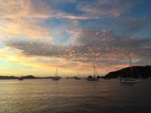 Another sunrise over Tenacatita