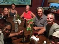 Dinner with Brenda, Liz (Half Moon), Cindy and Mark (Delta Swizzler), Mark (Trovita), and Jeff