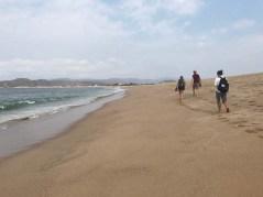 Walking the beach between Barra and Melaque (PC Sammi)