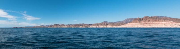 The beautiful Baja coastline