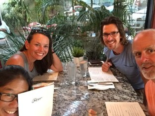Dinner at Raggios with Small World