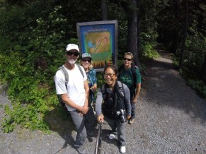 Selfie at the Winner Creek trailhead