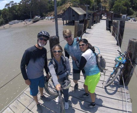 Selfie on the old pier