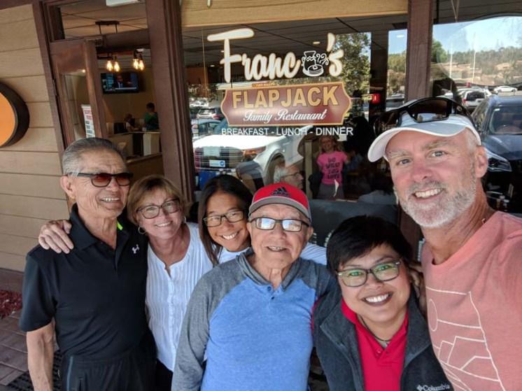Brekky at Franco's with Nobisan and Mel - YUM!