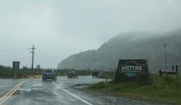 A gloomy day in Whittier