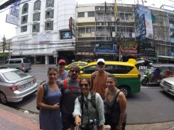 Arrival on Khaosan Road