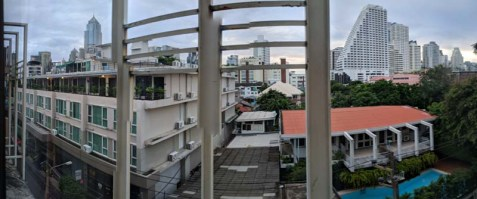 View from the Woraburi Hotel in Sukhumvit