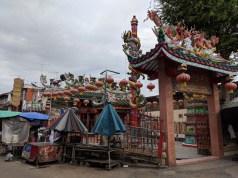 A less touristy temple