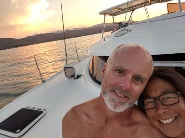 Sunset over Punta Trinidad