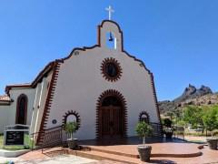 Pretty church in San Carlos