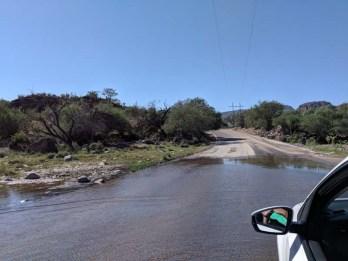 It does rain on the Baja peninsula!