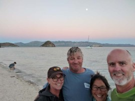 The Sacketts and the Frasers reunited in Baja