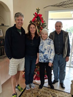 A quick visit with Judy and Bob