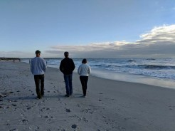 Nice stroll along the gulf