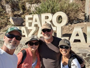 Ready for a hike up El Faro