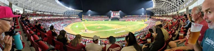 Pano of the beautiful stadium