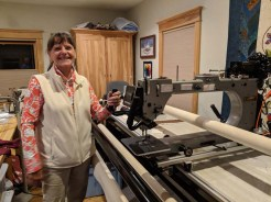 Paula is an award-winning quilter