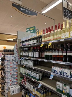 """Safeway in Fort Frances seems to think beer and wine constitute """"sports drinks"""""""