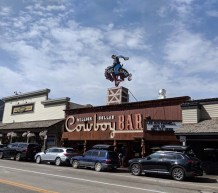The famous Cowboy Bar in Jackson