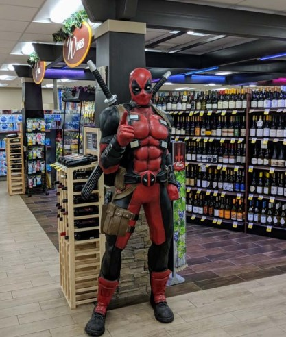 Deadpool helps with provisioning in Butte, MT