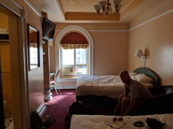 Our home for a night at Bedford Regency