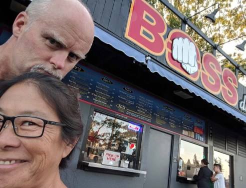 One more night in Seattle - had to try the fries at Boss (they were good!)