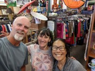 A visit with Heather at Pass It On in Tahoe City