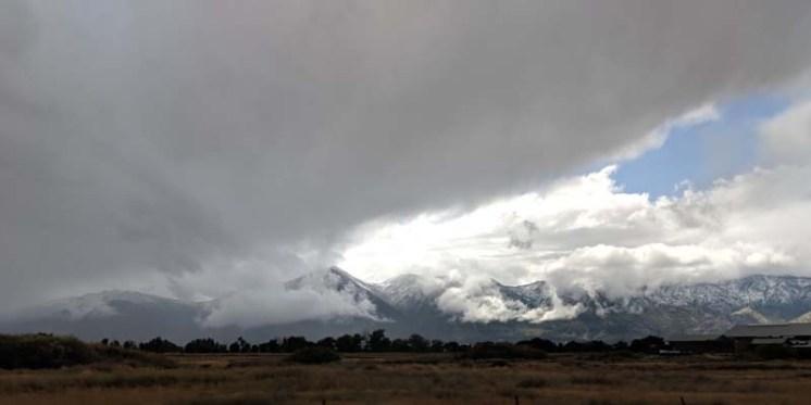 The beautiful eastern Sierra