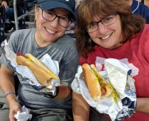 The obligatory ball park dogs