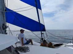 Under the drifter from Chacala to Punta de Mita