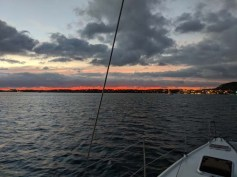 Sunset over Mita