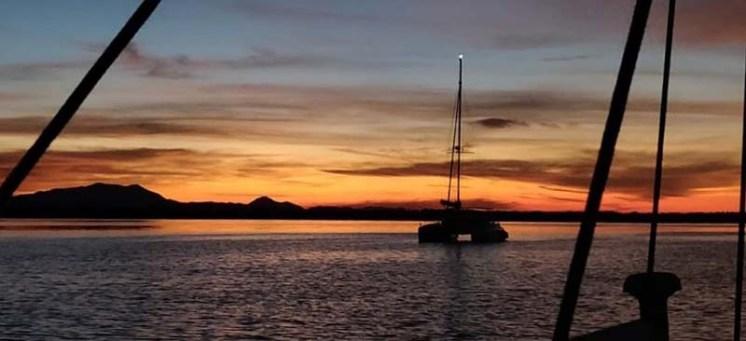 Vicki of S/V Rhiannon captured this shot of FL in the Barra lagoon - Thx, Vicki!