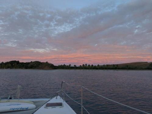 Sunset over Tenacatita