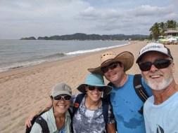 Beach walk to Melaque with Luego
