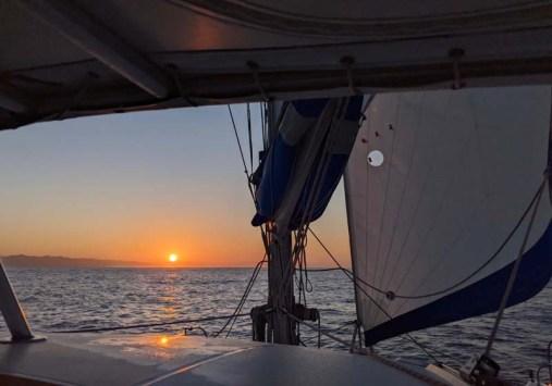 Sunrise en route to Cabeza Negra
