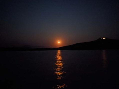 Chamela moonrise