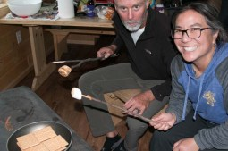 Smores in Alaska - a must-have