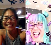 Goofing around with FaceTime effects