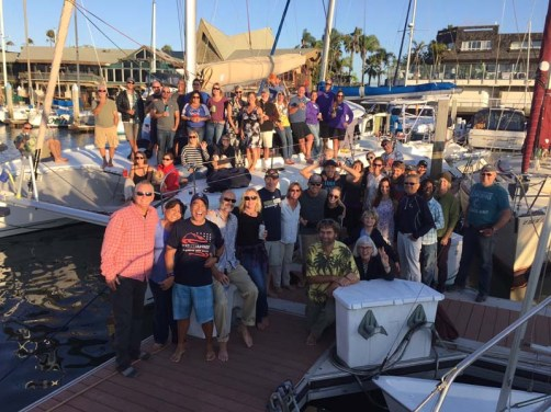 The fare-thee-well party in San Diego, October 2016