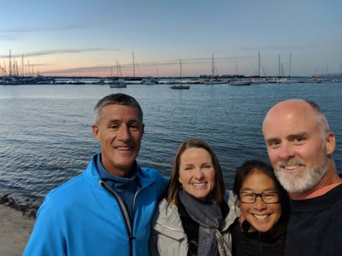 Walking the malecón on New Year's Eve with S/V Liahona, December 2018