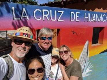 The Sacketts join us in La Cruz, April 2019
