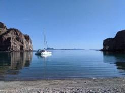 FL at rest in a calmer than calm Chico anchorage