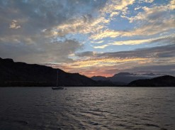 More cloudy days in Candeleros with S/V Sea Dream