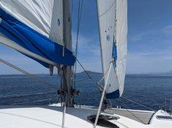Sailing around Coronados