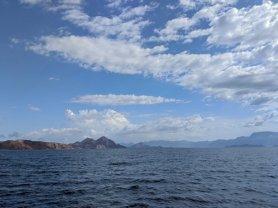 Sailing around Carmen