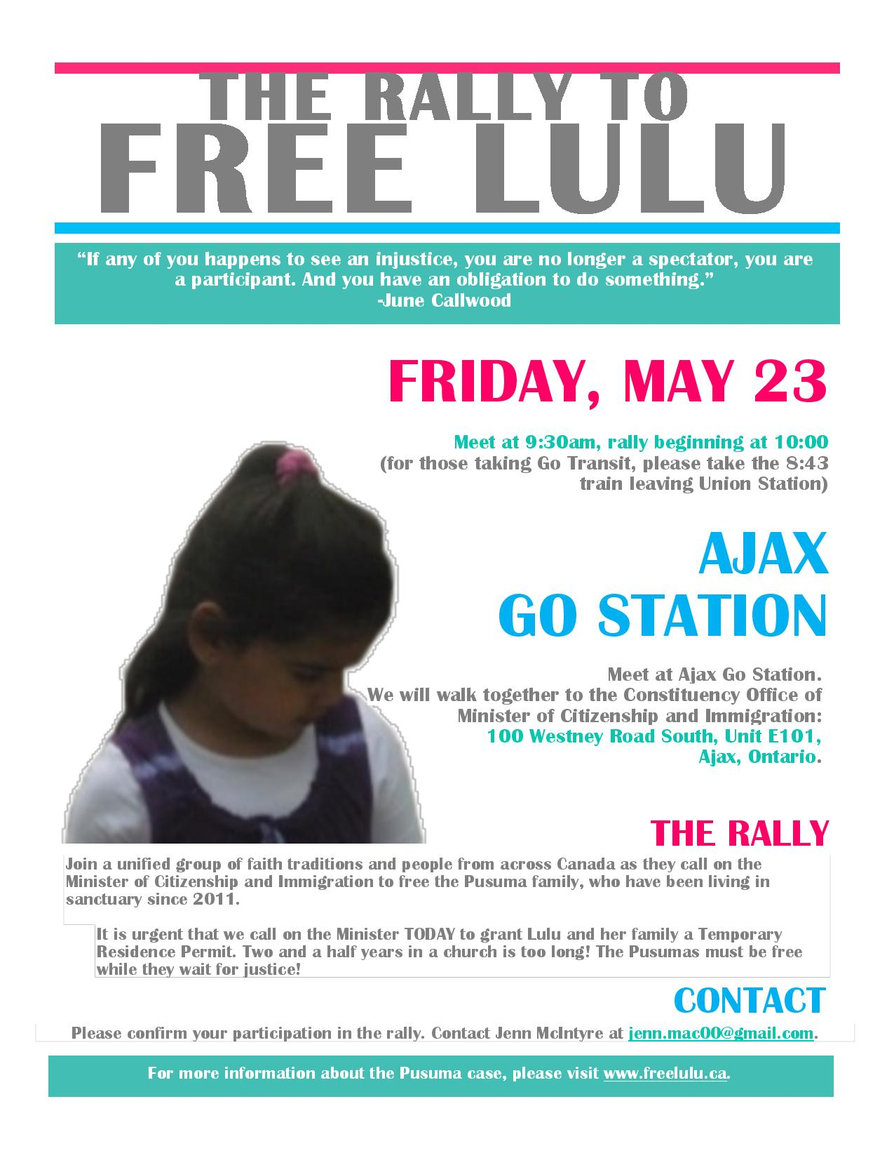 Rally to Free Lulu