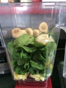 Tropical Green Smoothie ~ freelyeatwhole.com